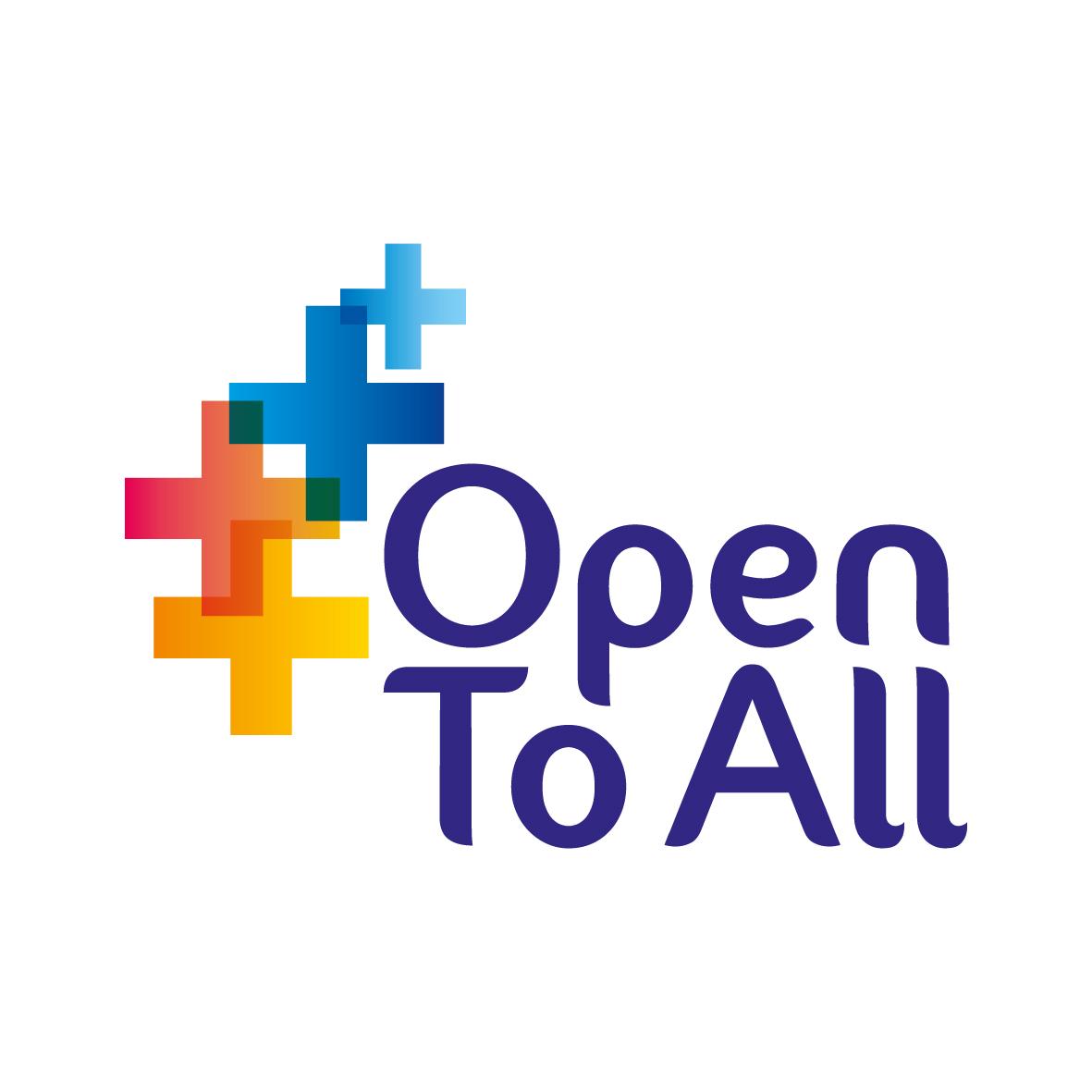 The Children England Open To All scheme logo