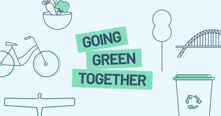 Going Green Together logo header