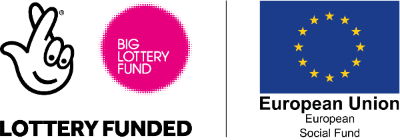 Big Lottery Fund & European Social Fund logos